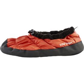 Nordisk Buty puchowe, red orange